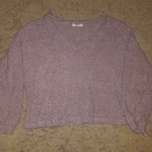 Boxy Brushed Sweater